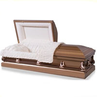20 Gauge Steel Casket - Bronze