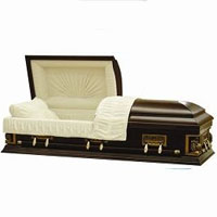 Peaceful Wooden Casket (MDF - Veneer)