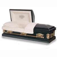 18 Gauge Steel Casket - Falconer