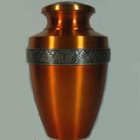 Sienna Brass Urn