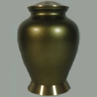 Madera Brass Urn