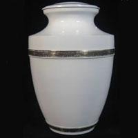 Ocean Pearl Brass Urn
