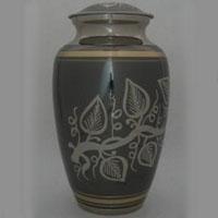 Peace Vine Brass Urn