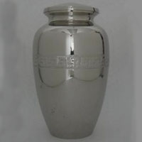 Mirrored Memories Brass Urn