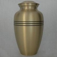 3 Line Brass Urn