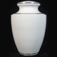 White Hope Brass Urn
