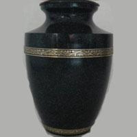 Onyx Sky Brass Urn