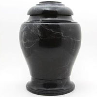 Midnight Sky Marble Urn