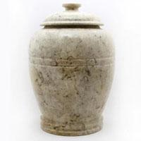 Sandy Marble Urn