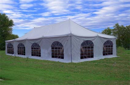 This New 20u0027 x 40u0027 Party Wedding Canopy PVC Pole Tent is a great no-fuss outdoor shelter. It is Ideal for family parties weddings picnics sports events ... & High Quality 20u0027 x 40u0027 Party Wedding Canopy PVC Pole Tent