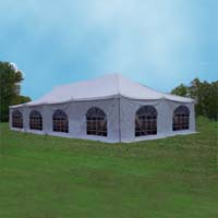 High Quality 20' x 40' Party Wedding Canopy PVC Pole Tent