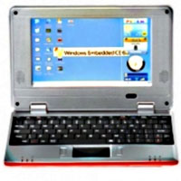 Brand New Red E7000B 7 inch Windows CE Netbook
