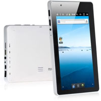 Google Android 2.3 7 inch 2160P Video Flash 11.0 Capacitive Screen Tablet PC