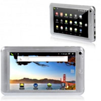 Brand New 7 inch EM73A Google Android 2.3 Tablet PC Silver