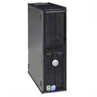 Dell Desktop PC Computer P4 3.4 Ghz, 2GB RAM, 80GB HD, DVD, WINDOWS 7