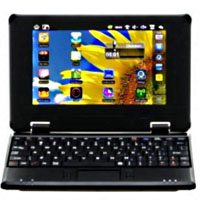 Brand New Black 7 inch Google Android 2.2 Netbook RJ45 Notebook