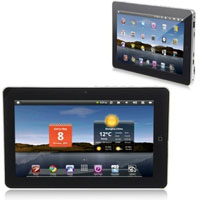 1080P Video Google Android 2.3 10.1 inch Resistive Screen Tablet PC