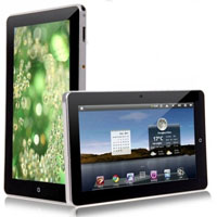 E10 Flytouch III Google Android 2.3 10.1 inch 1080P Video Resistive Screen Tablet PC Silver