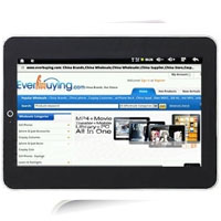 "10.1"" Google Android 2.1 WiFi Gravity Sensor MID Tablet PC"