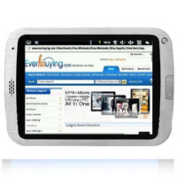 "8"" Google Android 1.6 Gravity Sensor Tablet PC"