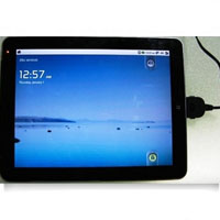 9.7'' Multi Touch Capacitive Tablet PC Android 2.2 With WIFI & Bluetooth