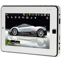 Google Android 2.2 7 inch 1080P Video Resistive Screen Phone Tablet