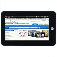 "Brand New 7"" Google Android 1.9 Gravity Sensor Panel Tablet PC"