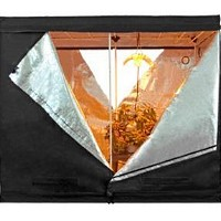 (1) 2-Door 8x4x6.5 ft Reflective Hydroponics Grow Tent