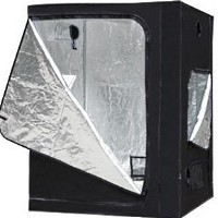 (1)Hydroponic System 5x5x6.5 ft Reflective Grow Tent