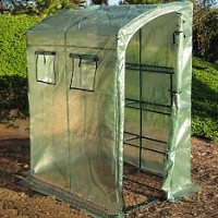 High Quality Portable Green House 6.33' Tall x 4.66' Wide x 3.33' Long w/ 1 shelf