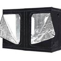 (1)Hydroponic System 9.8x5x6.6 ft Reflective Grow Tent