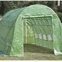 Heavy Duty 20' X 10' Walk In Green House with Metal Frame