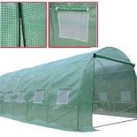 Brand New 19.7×9.8FT Large Outdoor Portable Garden Green House Shed