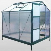 High Quality 8' x 6' Greenhouse Twin-Wall Polycarbonate Green House