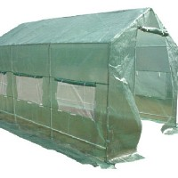 High Quality Greenhouse 12' x 7' x 7' Portable Walk-In Green House