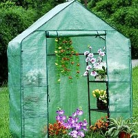 "High Quality Greenhouse 57"" x 29"" x 77"" Walk in Green House"