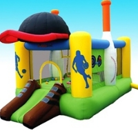 All Sports Bounce House Bouncy House With Blower