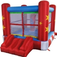 Mini Boxing Ring Bounce House Bouncy House with Blower