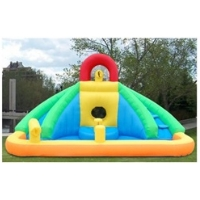 Inflatable Castle Bouncer Bouncy House With Water Slide