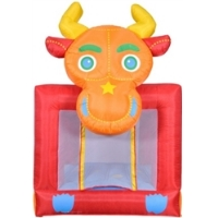 Bucking Bull Bounce House Bouncy House with Blower