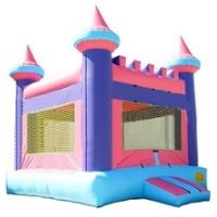 Castle 3 Inflatable Bounce House Bouncy House (Commercial Grade)