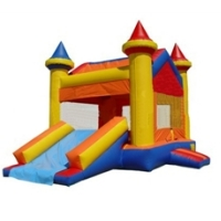 Castle 6 Inflatable Bounce House Combo Bouncy House (Commercial Grade)