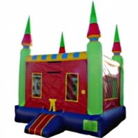 Commercial Grade Inflatable Castle Peaks Kones Bouncer Bouncy House