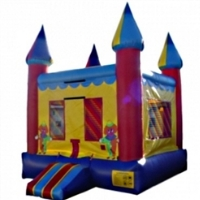 Commercial Grade Inflatable Clown Castle Bouncer Bouncy House