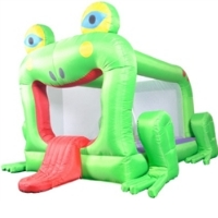 Frog Bounce House Bouncy House with Blower