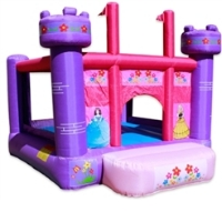 Girl's Princess Castle Bouncer Bouncy House With Blower