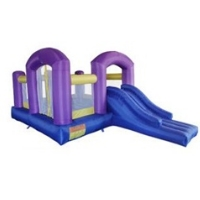 Huge Multiple Activity Inflatable 5 in 1 Castle Bouncer Bouncy House