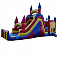 Commercial Grade Inflatable 4in1 Slide Jumper Combo Bouncy House