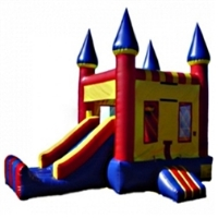 Commercial Grade Inflatable Castle Slide 2in1 Combo Bouncy House