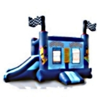 Commercial Grade Inflatable Mini Race Car 2in1 Combo